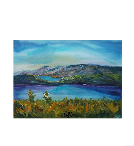 Mountain top view - SOLD