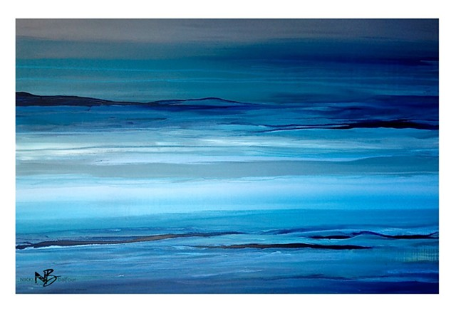 Abstract - Tofino Blue