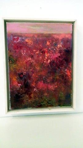 """Cranberry Bog"", 2016 Acrylic on Canvas Courtesy of Roberta Zlokower"