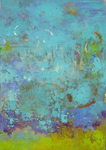 Pentimento III Acrylic on Canvas 27'' x 42''