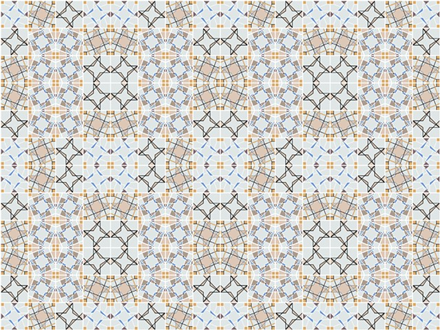 ka. lei. do. scope Ceramic Tile Collection Layouts - Option One
