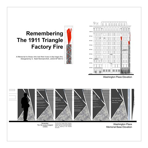 Remembering The 1911 Triangle Factory Fire Remember the Fire - Washington Place Side