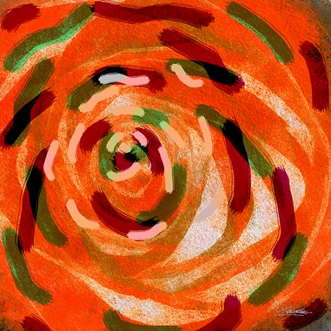 Whirling Collection Whirling RoseOrange