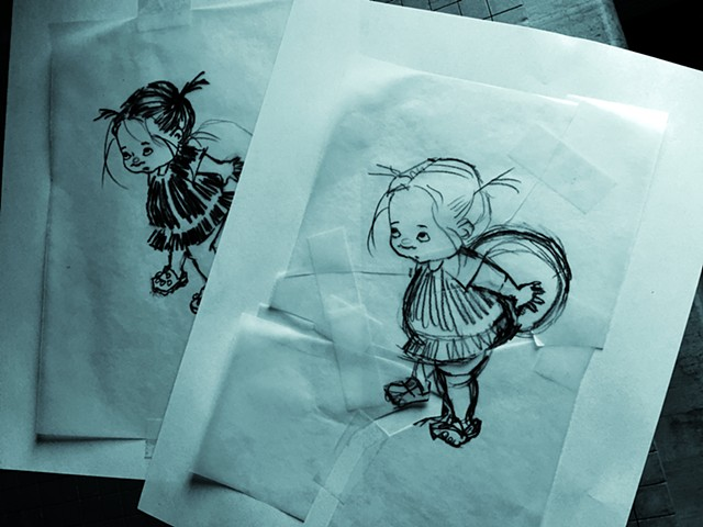 children's books,books, children's magazines, magazines, greeting cards, cards, and posters.  My style is humorous, humor, playful, friendly, whimiscal, decorative, and multicultural.  I illustrate animals, nature, buildings, amusement parks, circus, land