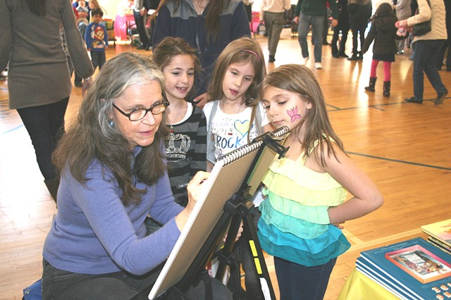 book signing, children's book illustration, illustrator, sketchbook
