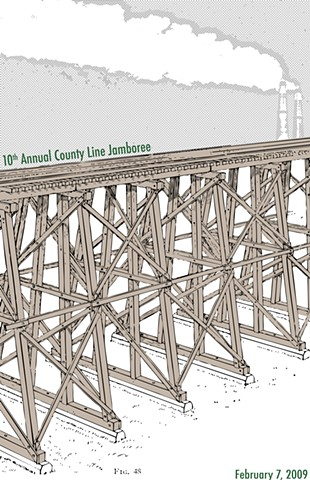 10th Annual County Line Poster