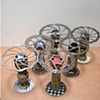 Trophies for the NorCal High School Cycling League
