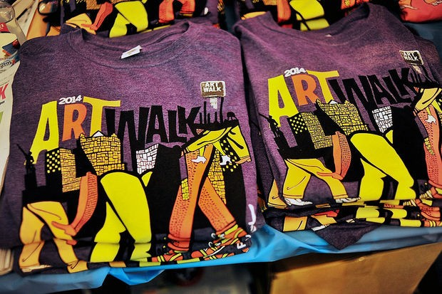 Artwalk 2014 design