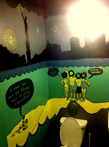 Seasick Records mural