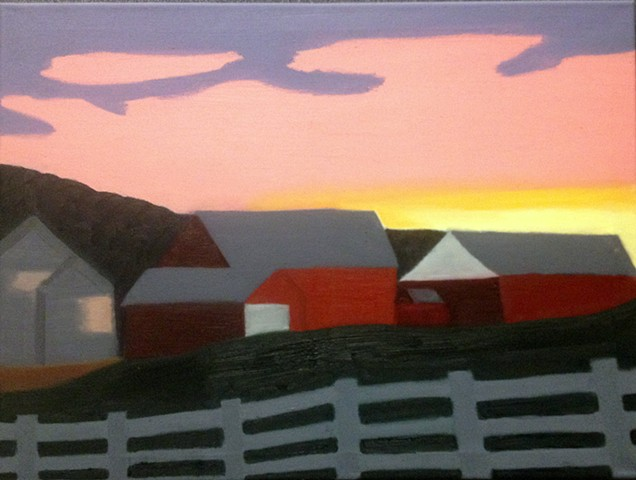 Atmospheric Perspective/Landscape Introduction to Painting