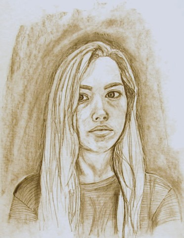 Untitled, Portrait Drawing