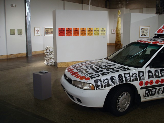 (S)Edition: Prints as Activism, gallery view (Oli Watt, Lisa Bulawsky)