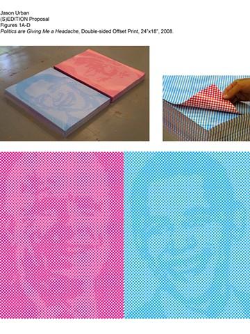 Jason Urban, participating artist, (S)Edition: Prints as Activism