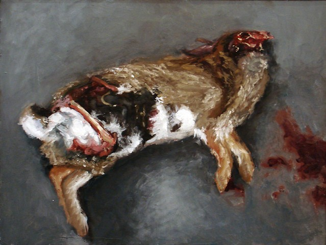 Shanna Shearer, participating artist, Kinship: An Art Exhibition Of and For Animals Like Us