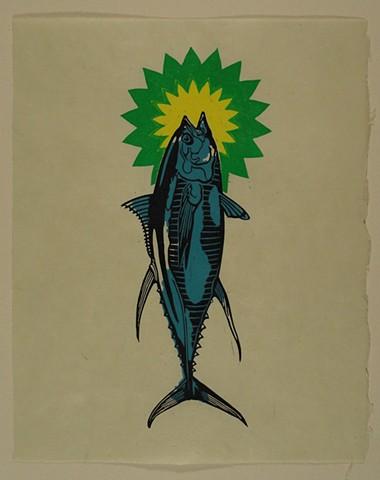 Tuna Can't Breathe Oil