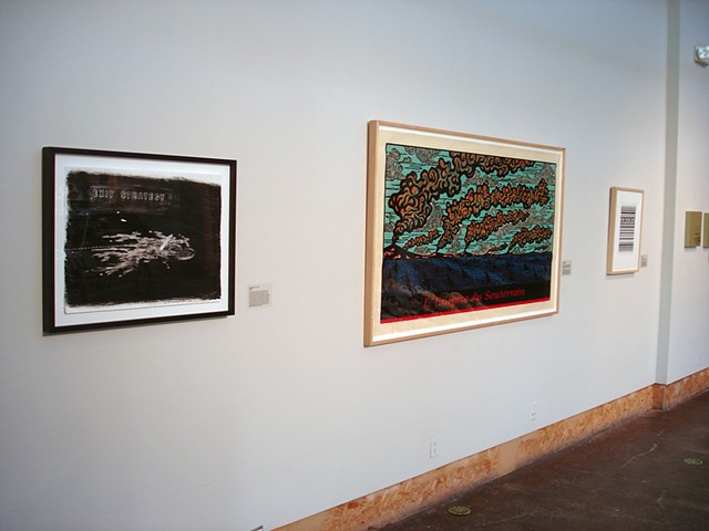 (S)Edition: Prints as Activism, gallery view (Ruthann Godollei, Endi Poskovic)