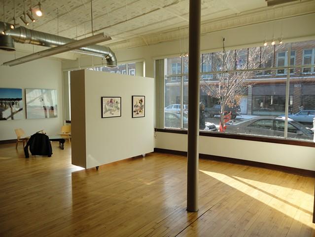 Kinship, gallery view, Calvin 106 space