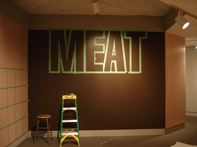 MEET YOUR MEAT, in progress