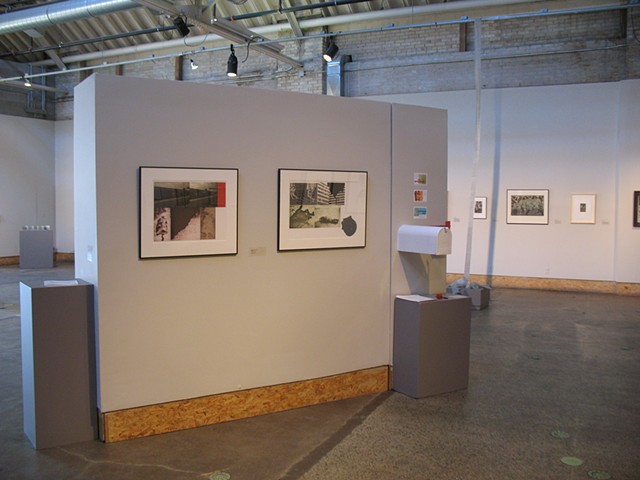 (S)Edition: Prints as Activism, gallery view (Frances Myers, Heather Ault)
