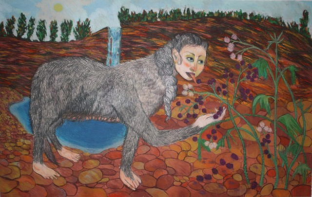 Margaret Reed, participating artist, Kinship: An Art Exhibition Of and For Animals Like Us
