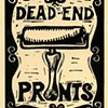 Dead End II announcement card (designed hand-printed by Alynn Guerra)