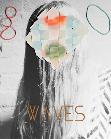 Sarah Palmer, Waves, Artist's Book