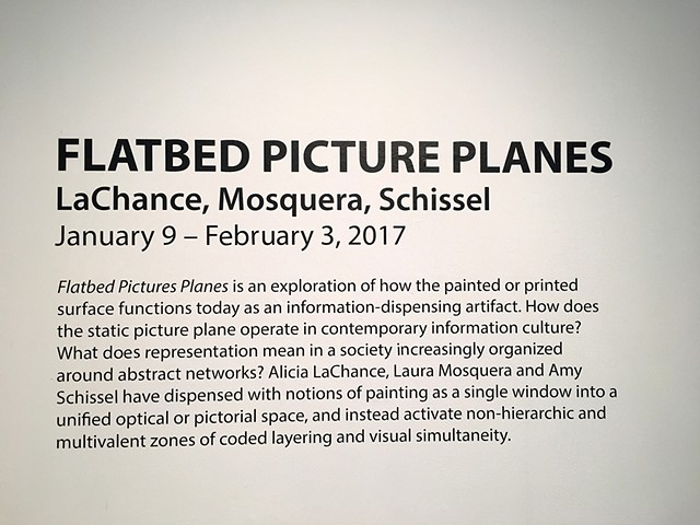 Flatbed Picture Planes, installation