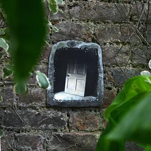 slate on wall  7