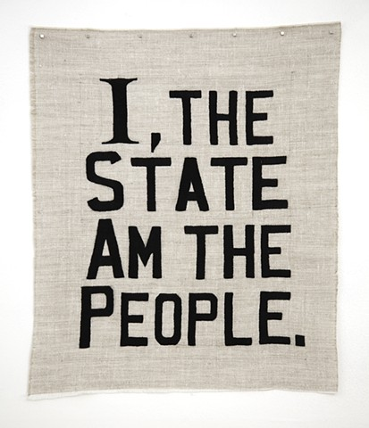 I, the State Am the People
