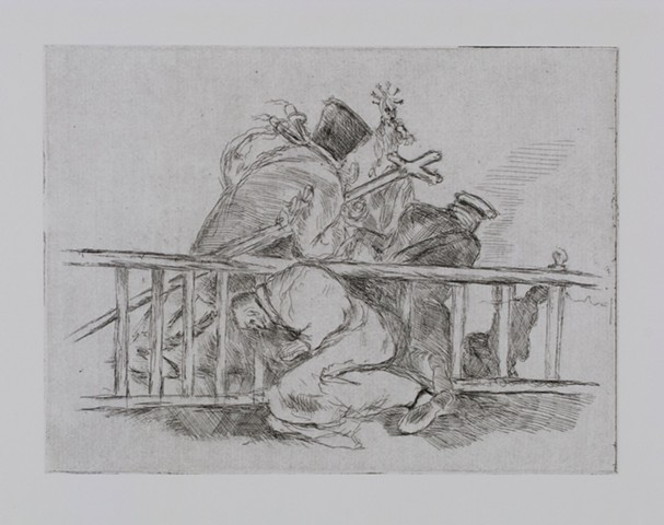 WALTER WILSON after Francisco Goya