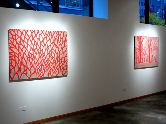 See Through Installation View -- MPT1 and CPT2