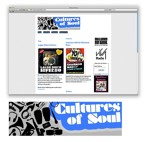 Cultures of Soul, record collector, and producer interested in soul music of all continents, soul, funk, jazz, groove