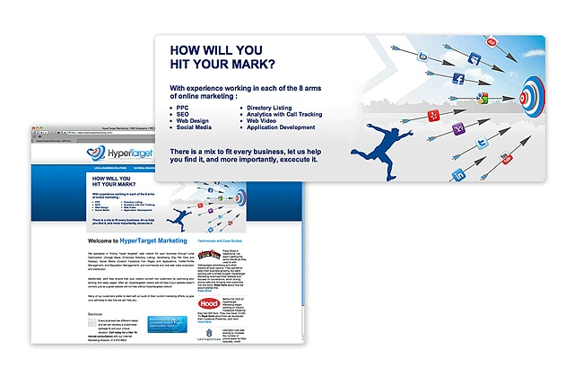 HyperTarget Marketing, Tony Forte Visual Design, TFVC, Design, NJ, LA, SF,