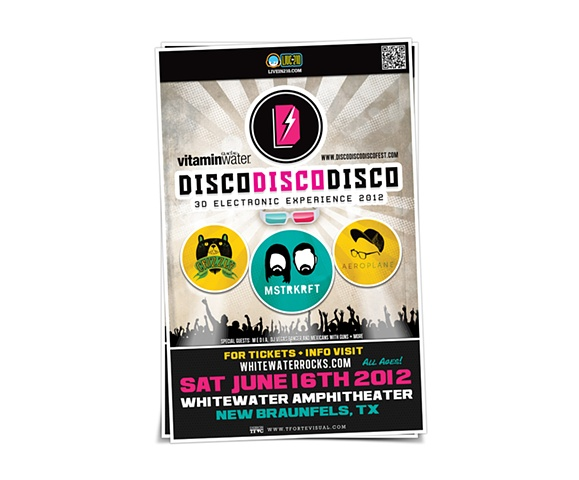 MSTRKRFT, Crizzly, Aeroplane & more ,Disco Disco Disco - 3D Electronic Experience ,3D Electronic/Dance Festival presented by VitaminWater + LiveIn210