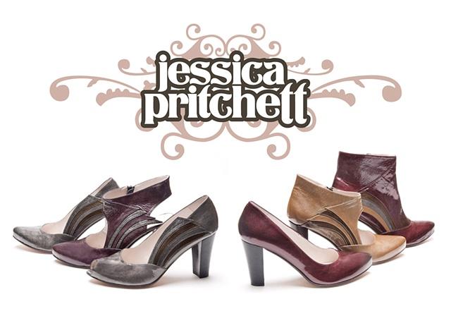Jessica Pritchett Shoes Footwear Design Logo Art Fashion