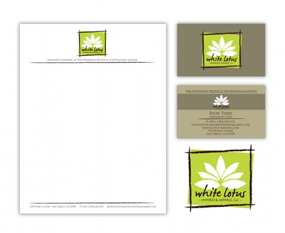 White Lotus • Branding Package