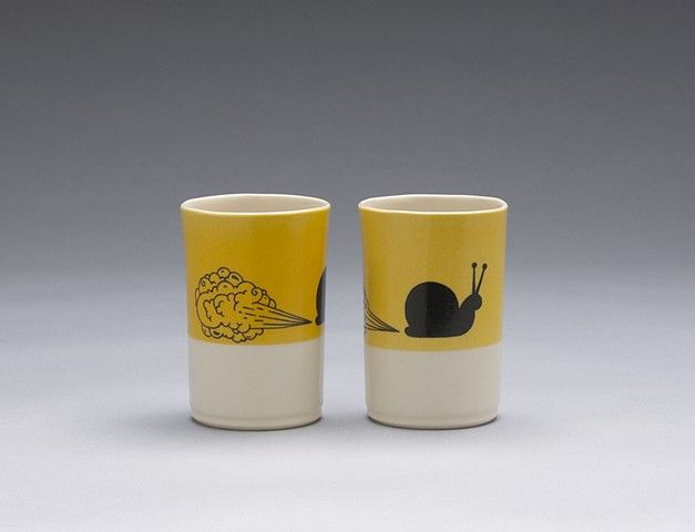 Farting Snails Cups