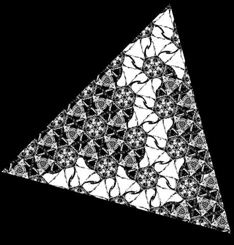 Vitruvian Tessiract