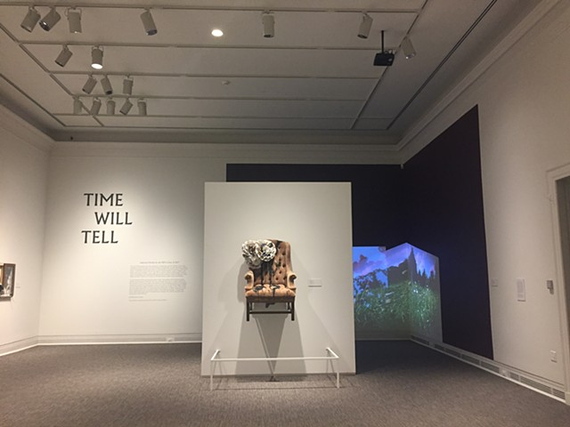 Time Will Tell, MFA Graduation Show 2017 Story of an Hour, 2017  multi-channel video + sound intallation
