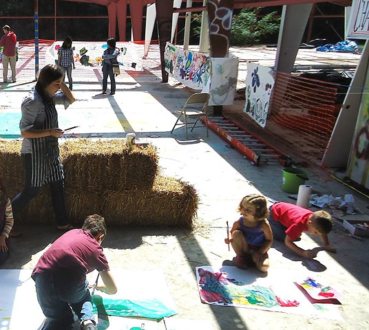 Mural Painting-Youth Arts Festival