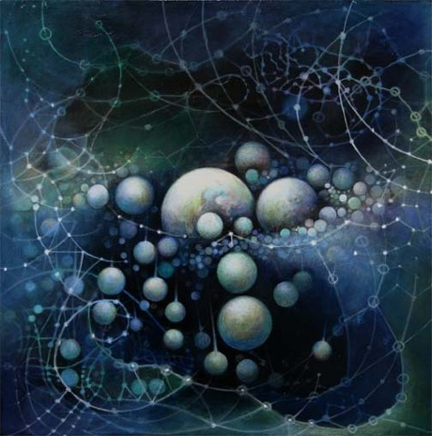 Star maps, Painting, Orbs, Celestial, Planets, Light, Cosmos