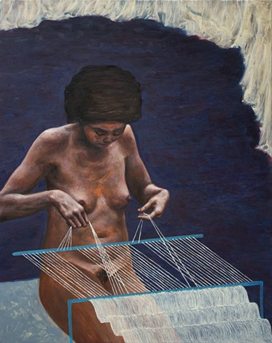 The weaver from Bali