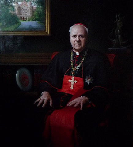 His Eminence Cardinal Edwin F. O'Brien,   Grand Master of the Equestrian Order of the Knights of the Holy Sepulchre in Jerusalem