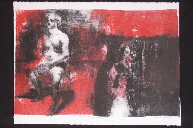 The Clowns Made Me Do It. Lithograph. Fall 2008.