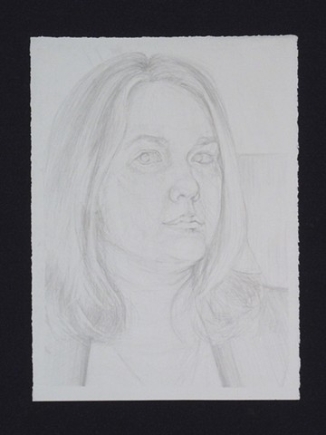 Self Portrait. Pencil. Graphite. March 2011.