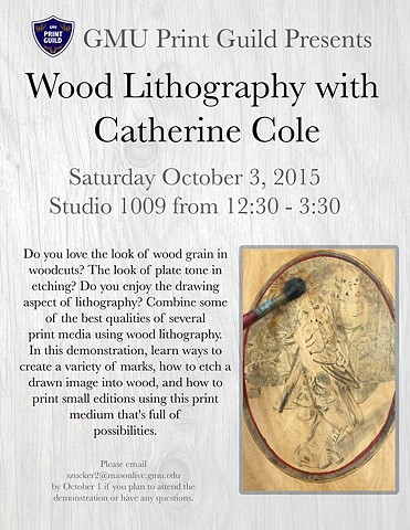 Wood Lithography Workshop