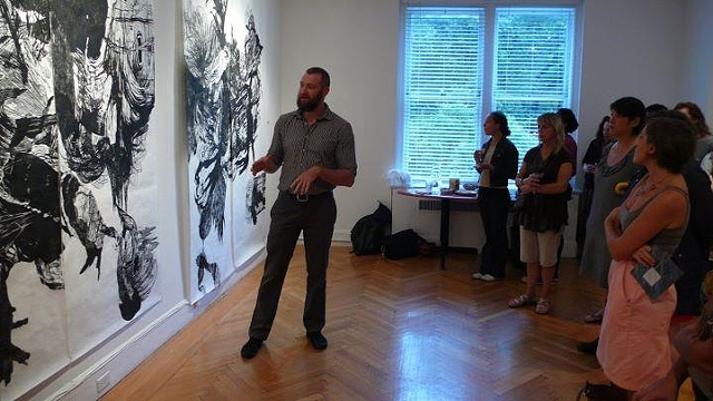 "Artist Talk, ""Transmutations"" exhibition, The Center for Emerging Visual Artists, Philadelphia, PA"