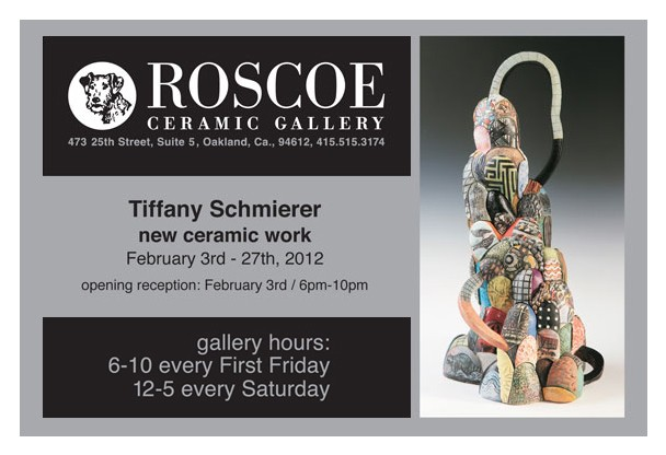 Roscoe Gallery Tiffany Schmierer: New Work