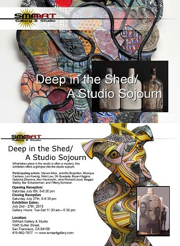 SMAart Gallery, San Francisco Deep into the Shed, A Studio Sojourn