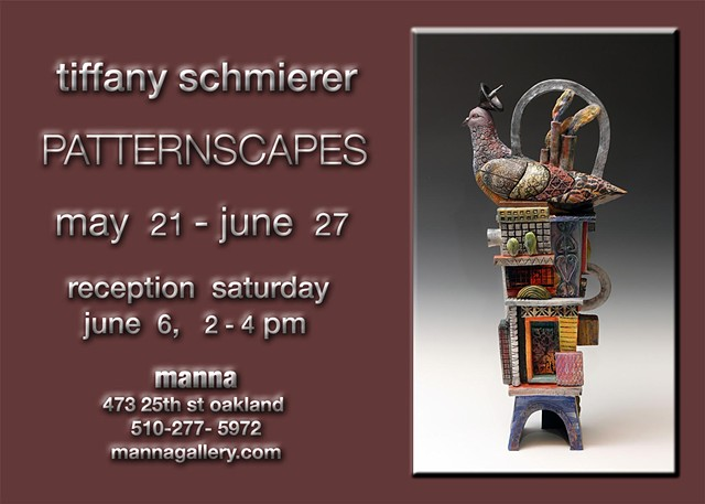 Manna Gallery Tiffany Schmierer: Patternscapes Solo Show